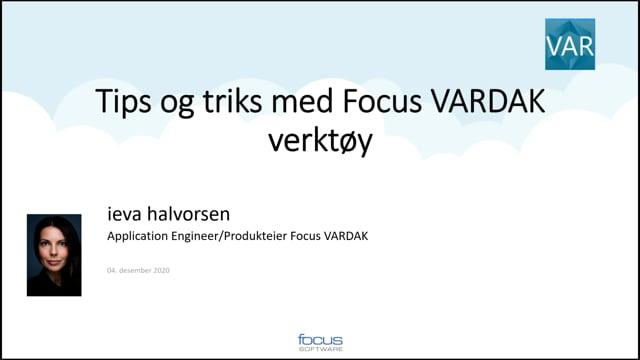 Det du kanskje ikke visste om Focus VARDAK