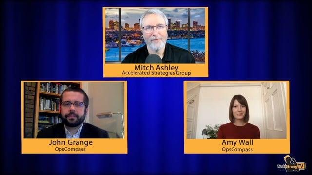 Amy Wall + John Grange -Techstrong TV