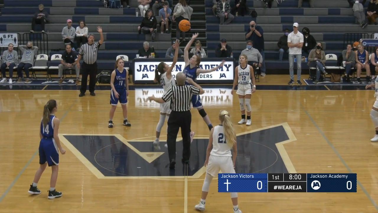 Varsity Girls Basketball vs Jackson Victors - 12-08-20.mp4