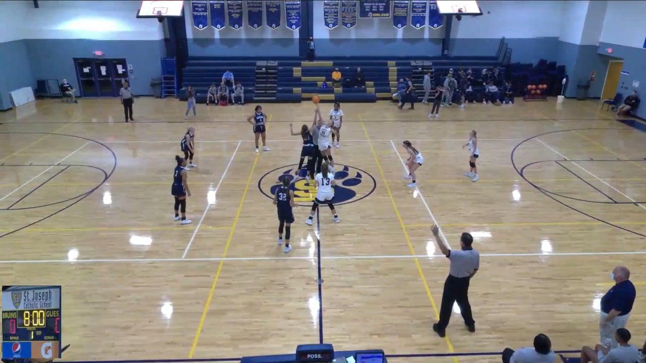 Varsity Girls Basketball vs St. Joseph - 12-04-20