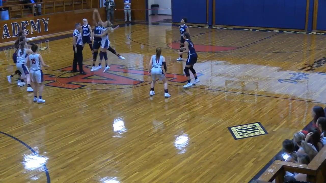 Varsity Girls Basketball vs Leake - 12-05-20