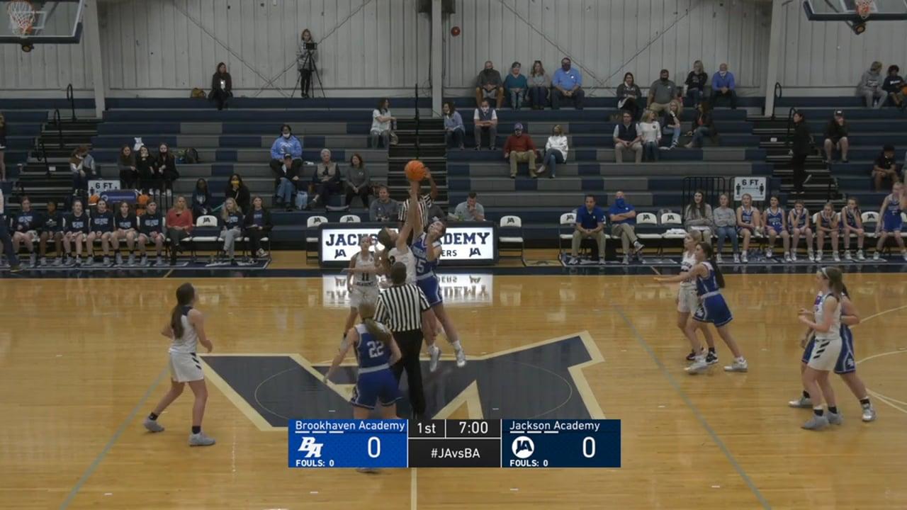 JV Girls Basketball vs Brookhaven Academy - 12-11-20