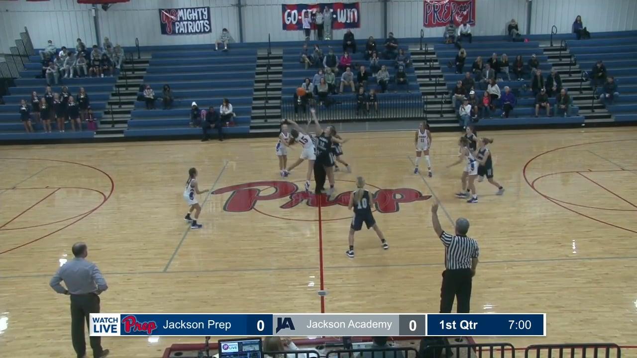 JV Girls Basketball vs Prep - 12-07-20