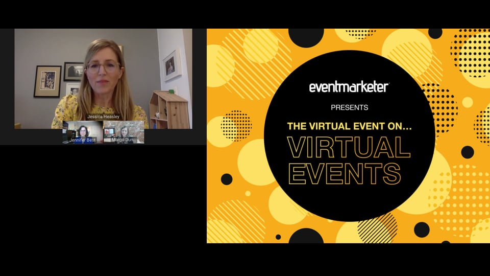 How to Leverage Speakers to Make your Virtual Event Shine