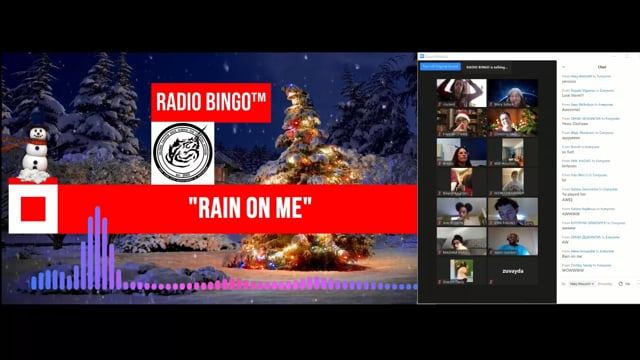 Highlights: Christmas Radio Bingo with DJs At Work