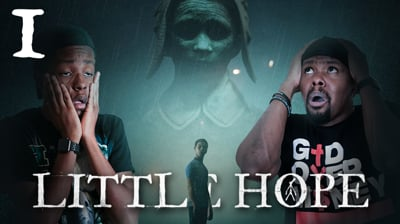 Trying To Survive This Horror Experience w/ My Annoying Little Brother! - Little Hope Ep.1