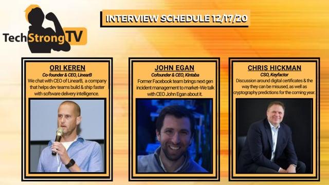 TechStrong TV - December 17, 2020