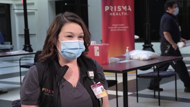 COVID-19 Vaccine Arrival Prisma Health SOT and B-roll