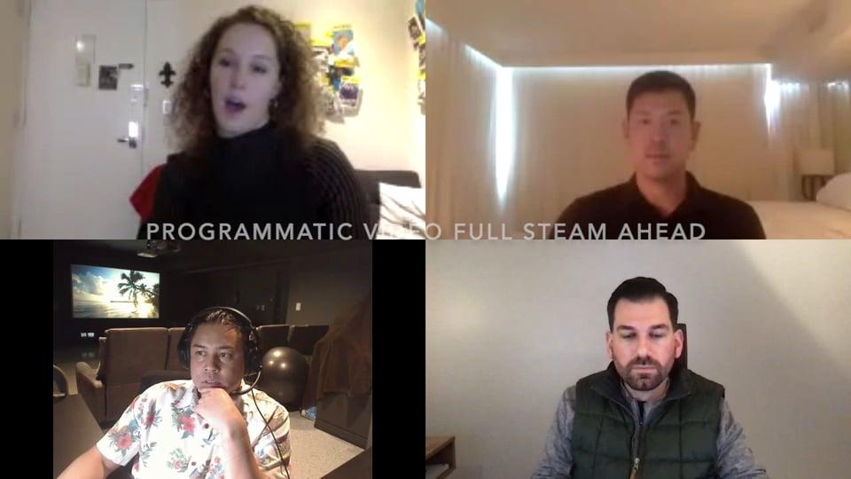 Programmatic Video: Full Steam Ahead