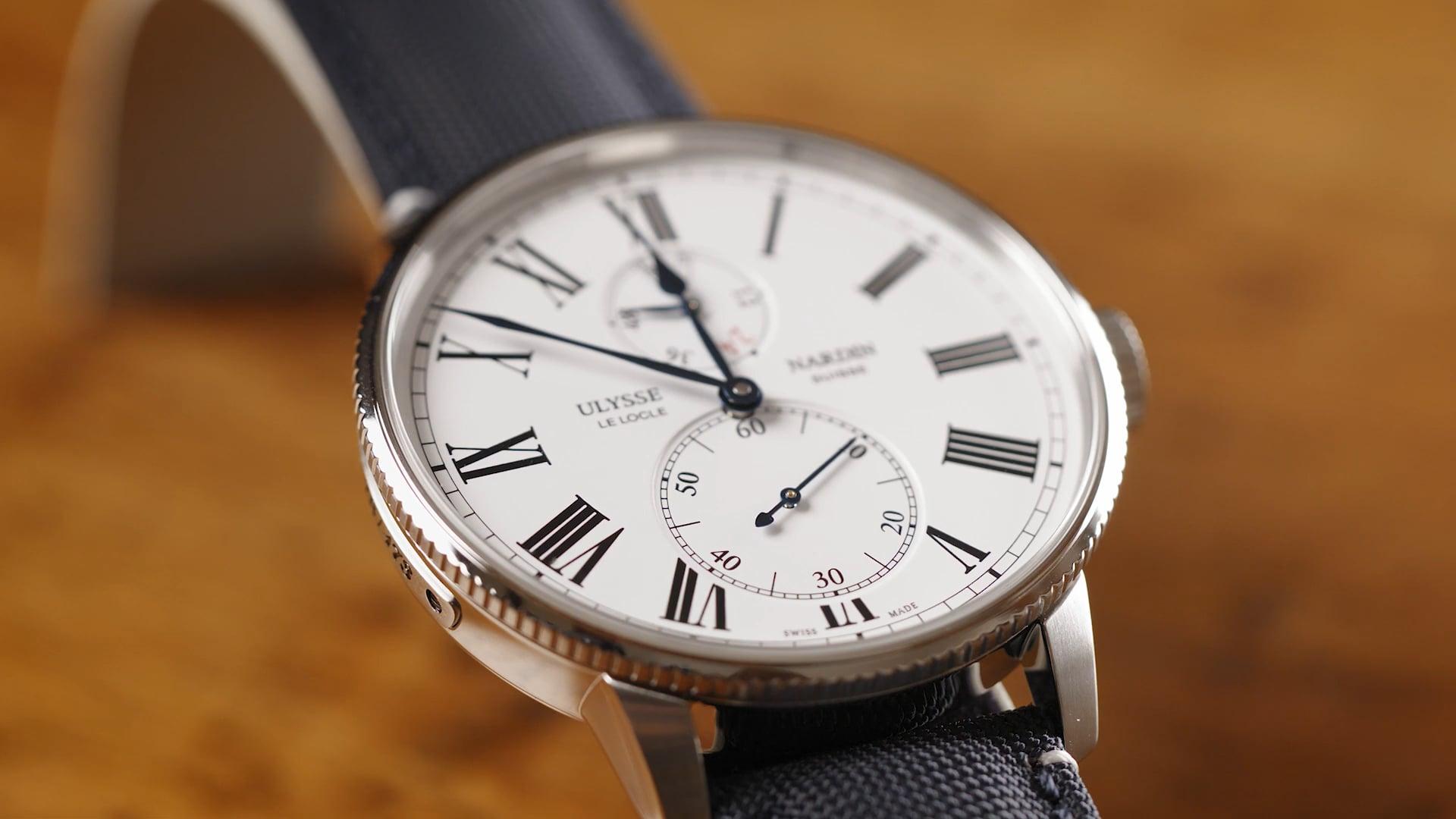 Watchtime - Ulysse Nardin - The Marine History