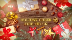 Holiday Cheer Fire Truck from Citizens