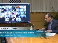 Ajuntament d'Olot - Ple Desembre 17.12.20