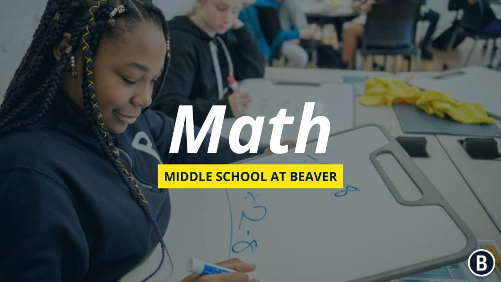 MS Math at BVR: Admission Information Event