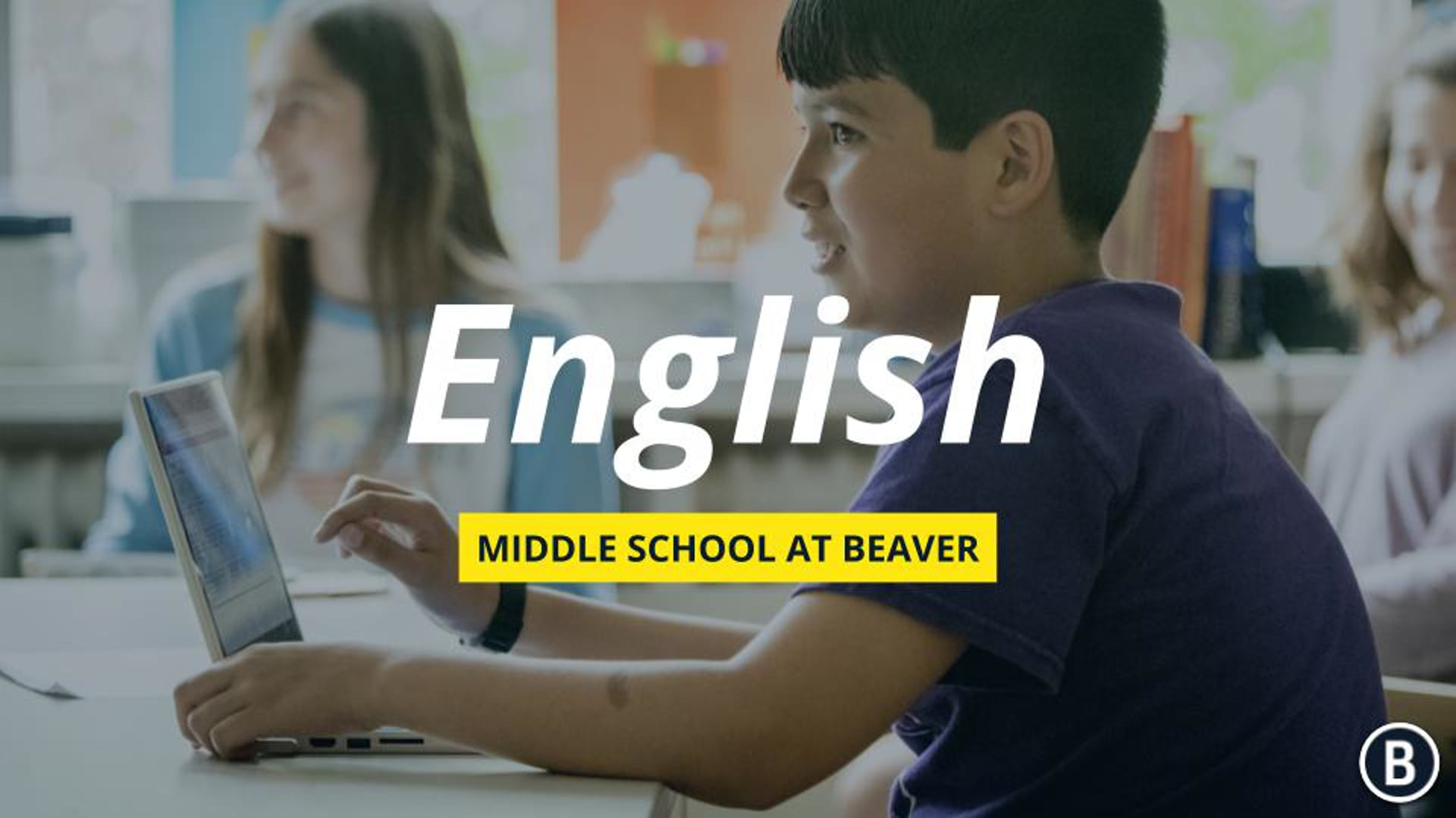 MS English at BVR: Admission Information Event