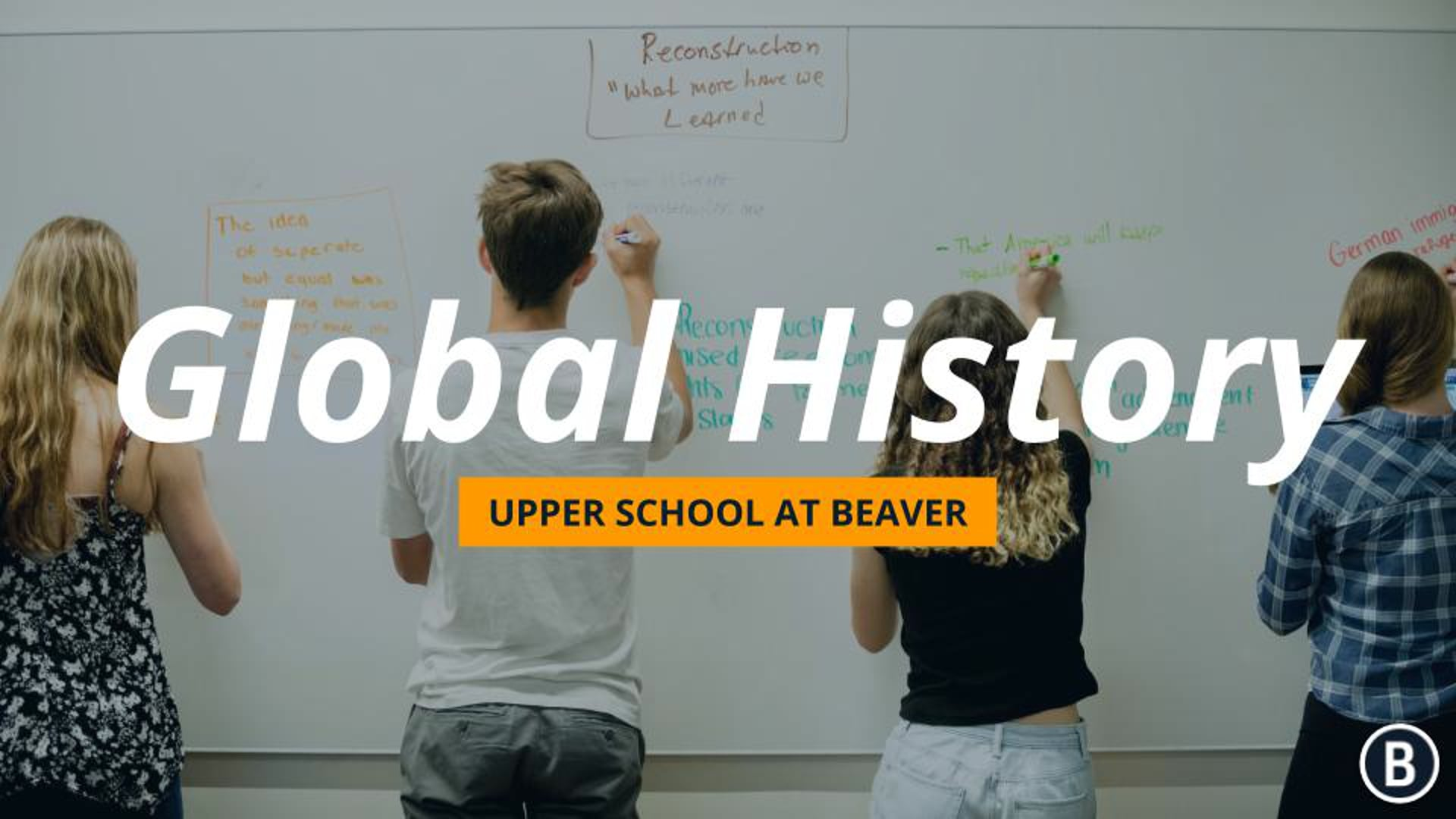 US History at BVR: Admission Information Event