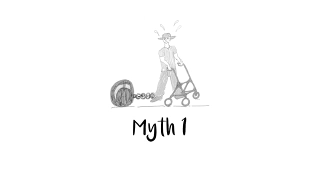 """Cover art for: Mythbusters """"You're too disabled or your needs are too complex to live in your own home"""""""