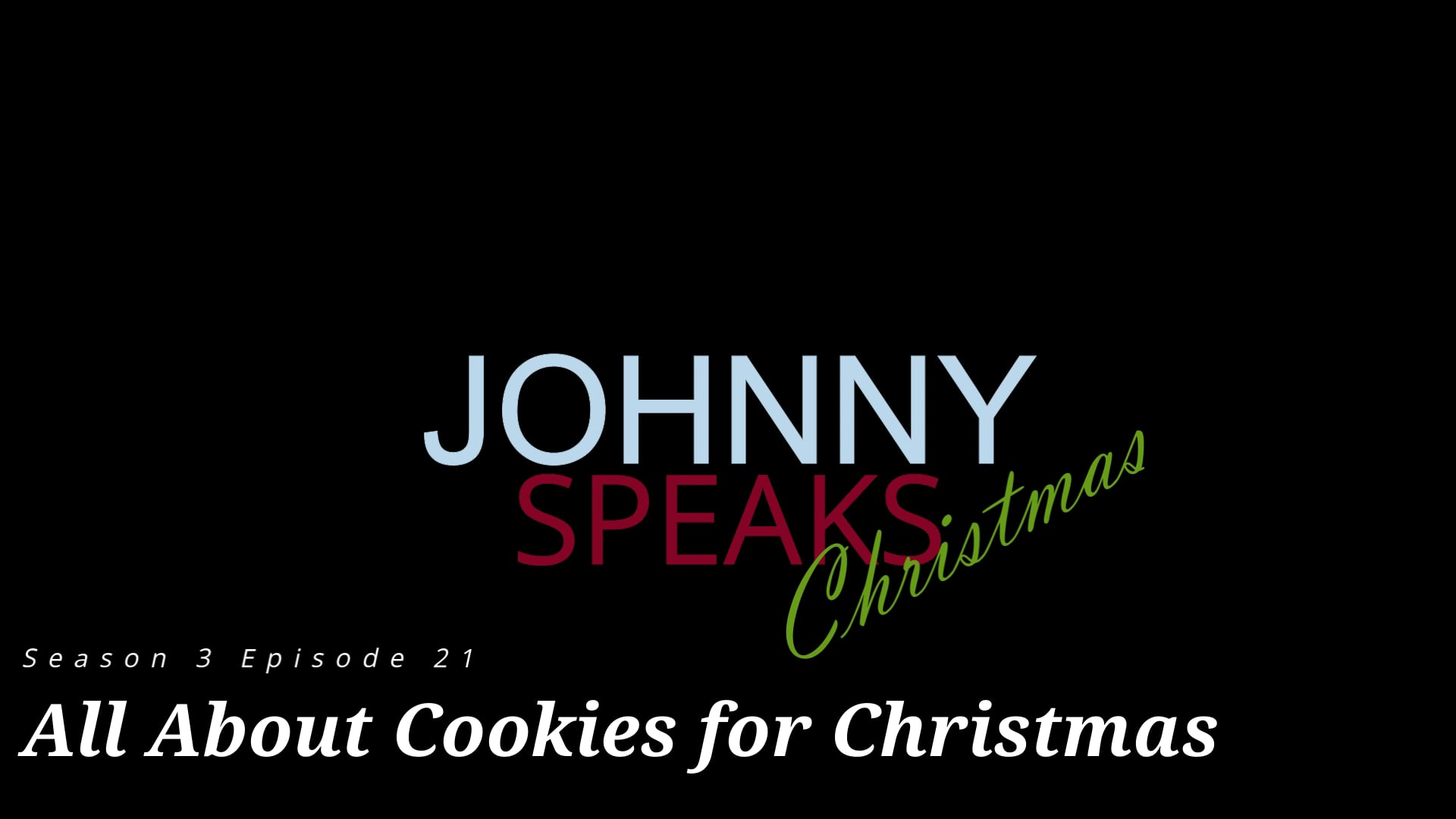 S3 E21 Cookies for Christmas