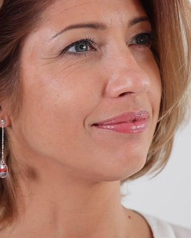 Video: 925 Sterlingsilber Koralle Ovale Form Ohrringe