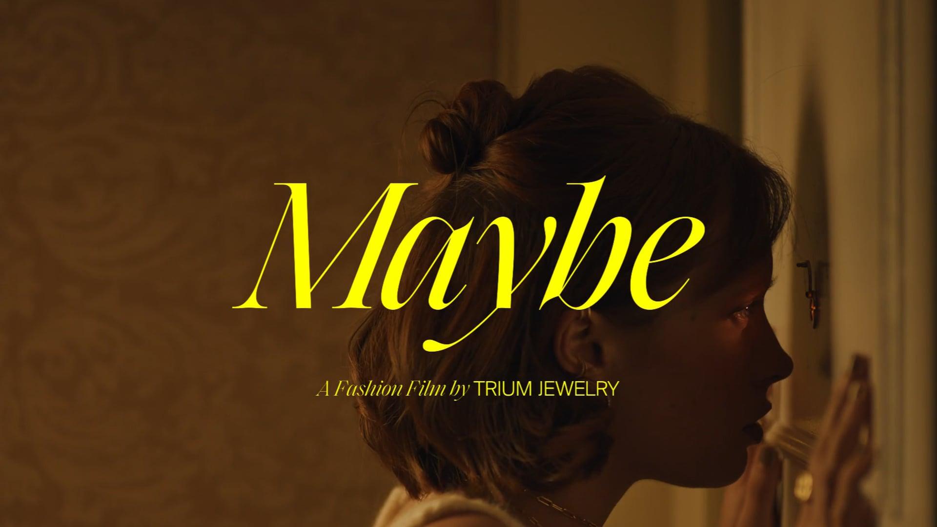 TRIUM JEWELRY 'Maybe'