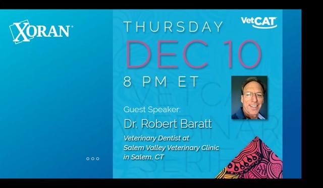 Webinar: Dr. Robert Baratt - Incorporation of CBCT into Referral Dentistry/Maxillofacial Surgery Practice