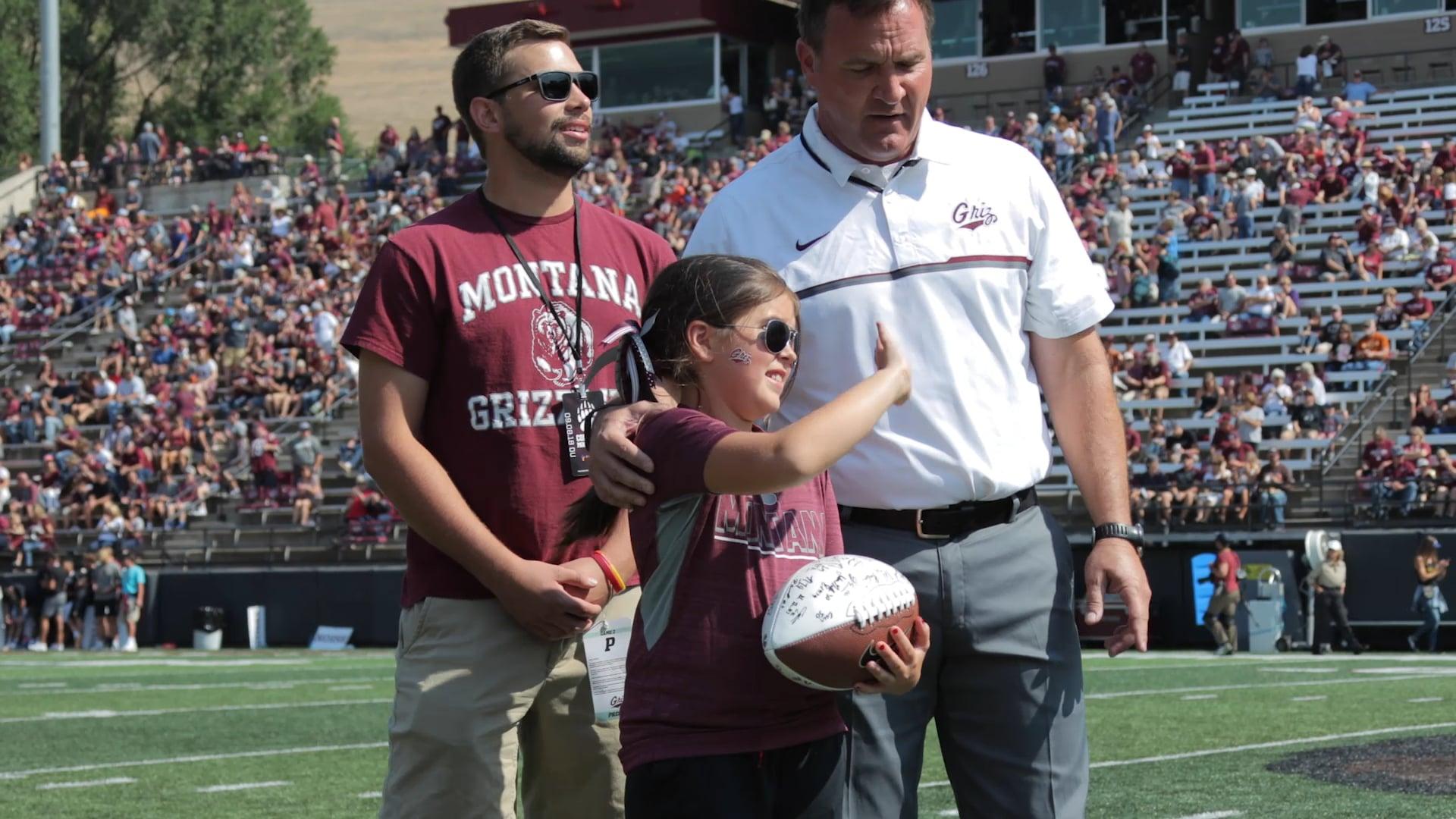 Dream Come True Highlights   University of Montana