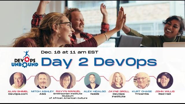 DevOps Unbound Roundtable 5 - Day 2 DevOps