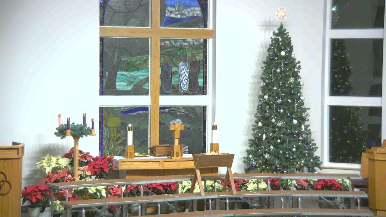 Jesus' Lambs at Peace Preschool Christmas Program 2020
