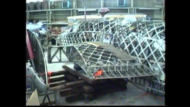 Andys Video of R for Robert at Brooklands. Air cushions deployed.