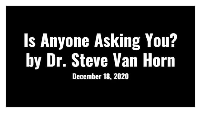 Dr. Steve Van Horn