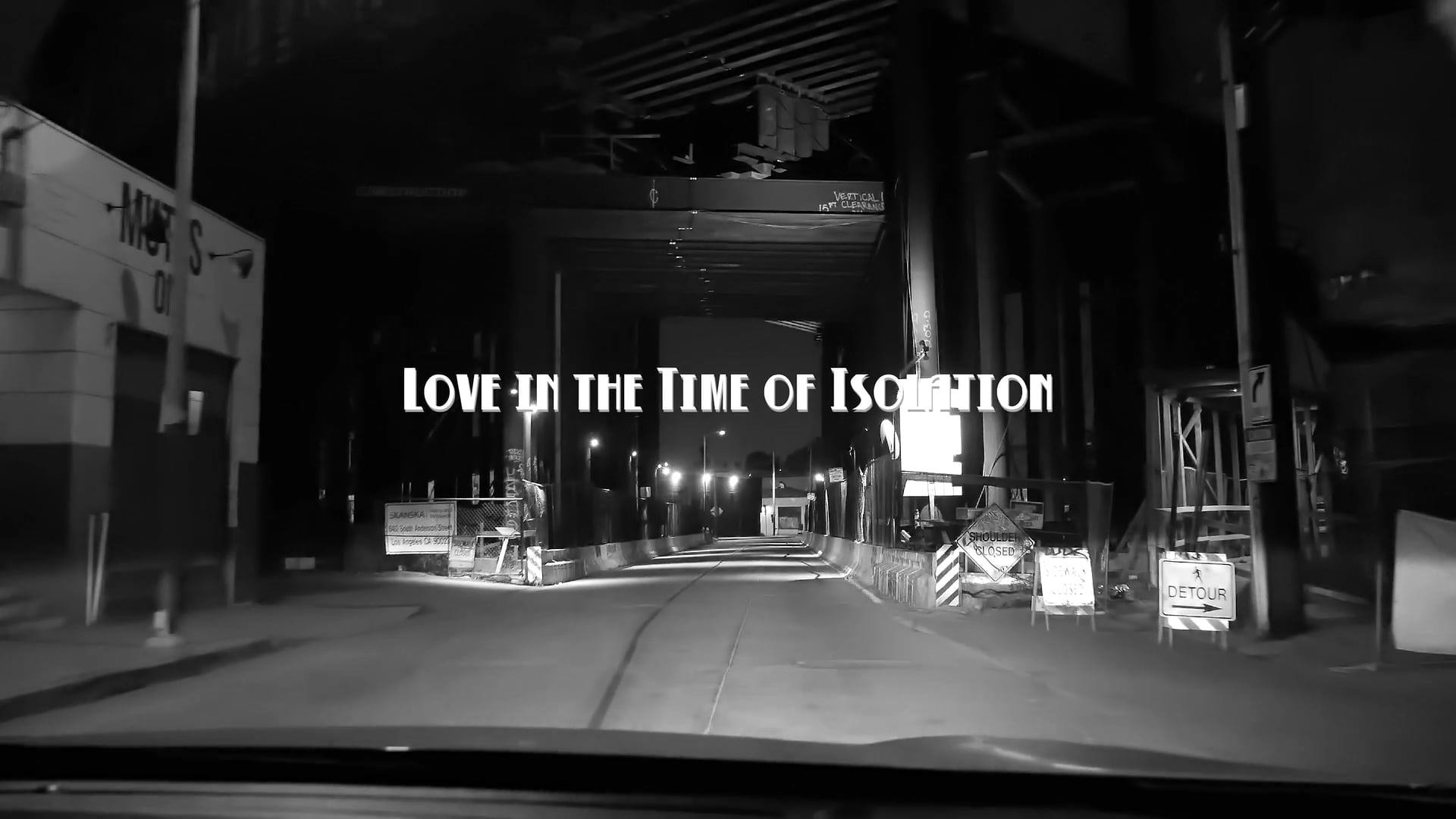 Love in the Time of Isolation