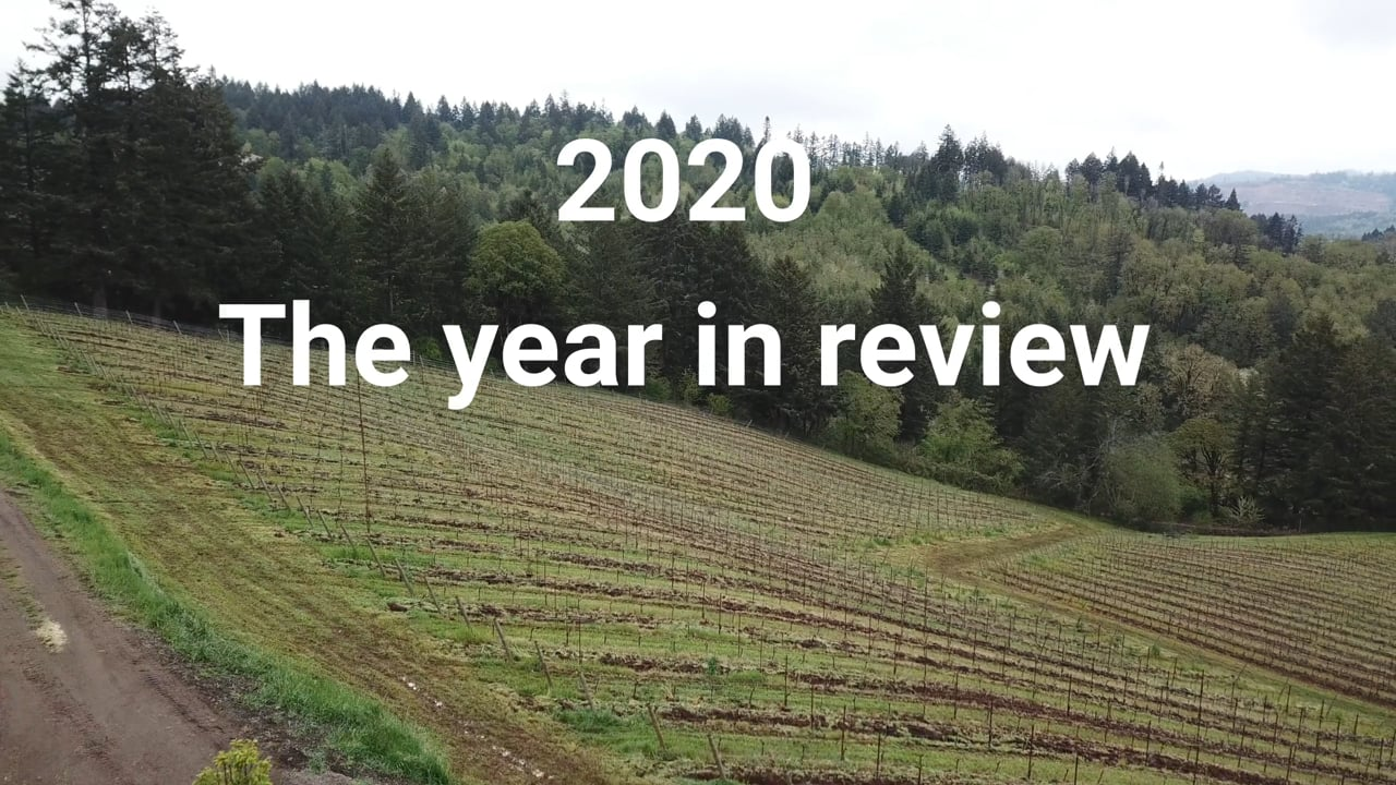 Cellar Ridge Construction 2020 Year in pictures