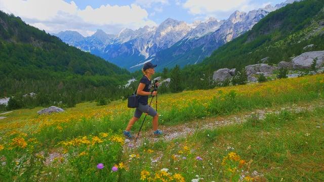 Valbona to Teth Trail, Albania - 4K Virtual Hike