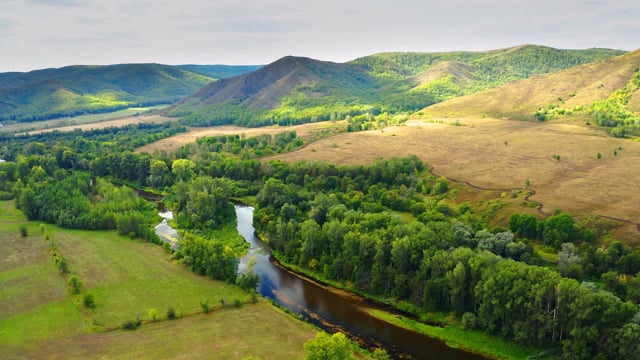 South Ural - View from Above - Short Relax Video