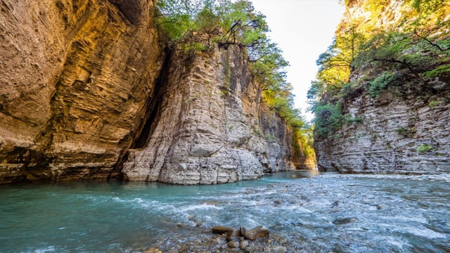 Journey along the Osumi Canyon, Albania - Most Beautiful Places in Europe