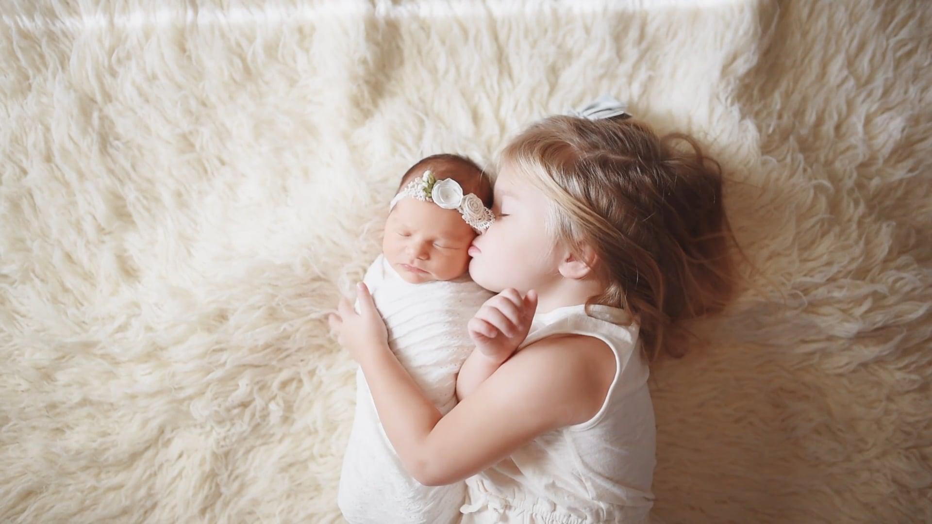 Rouse Family | Welcoming baby Adeline | Tulsa Oklahoma Videographer | Newborn Photographer