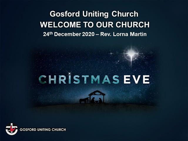 Christmas Eve 2020 - Rev. Lorna Martin