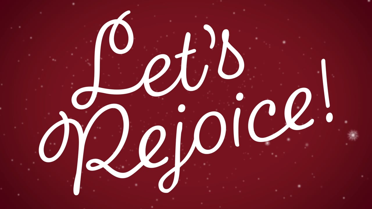Let's Rejoice This Christmas!