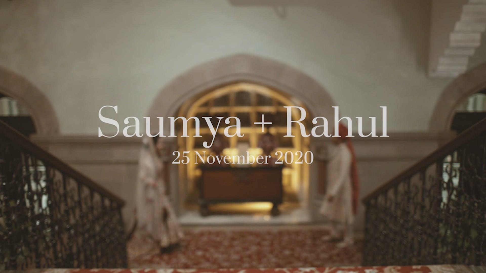 Saumya + Rahul
