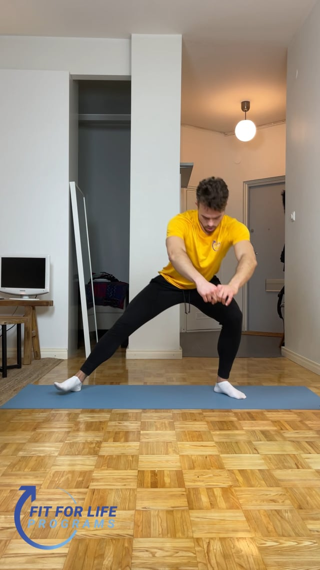 Side to Side Double Squat