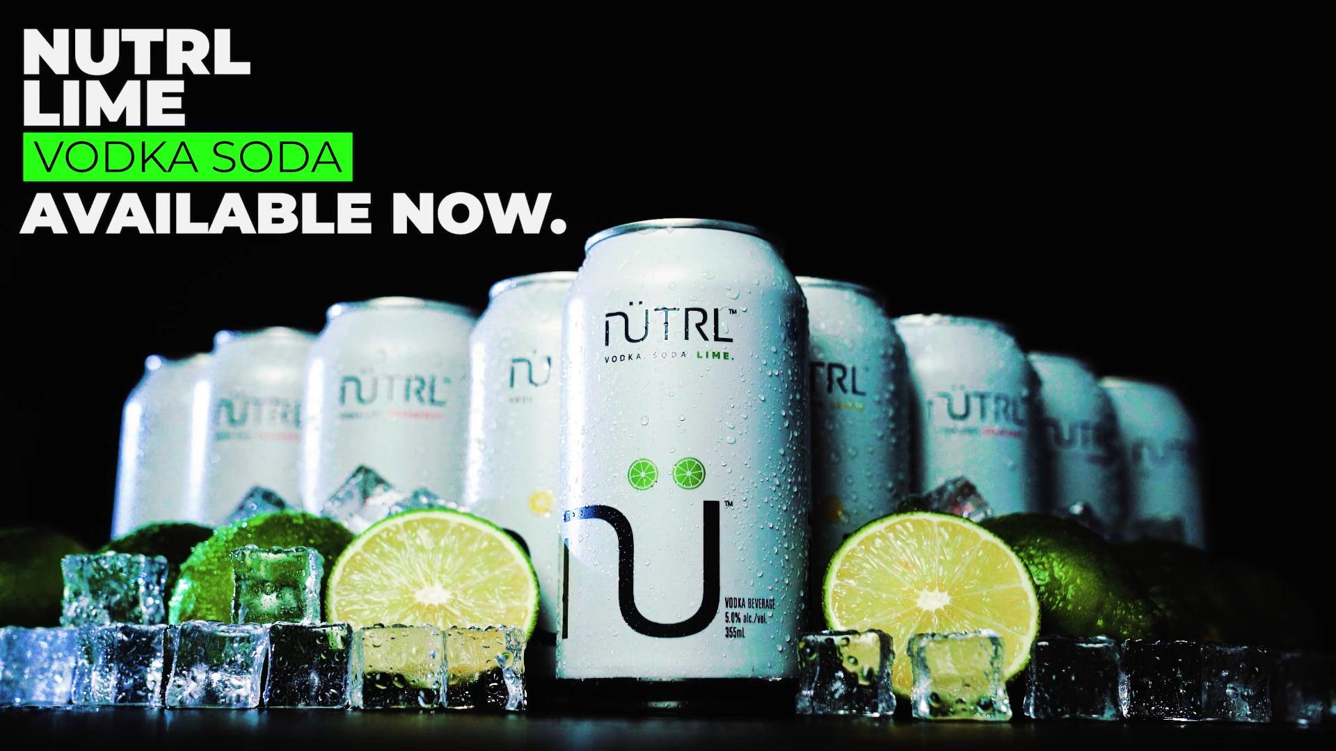 NÜTRL Lime Vodka Soda (Spec Ad)