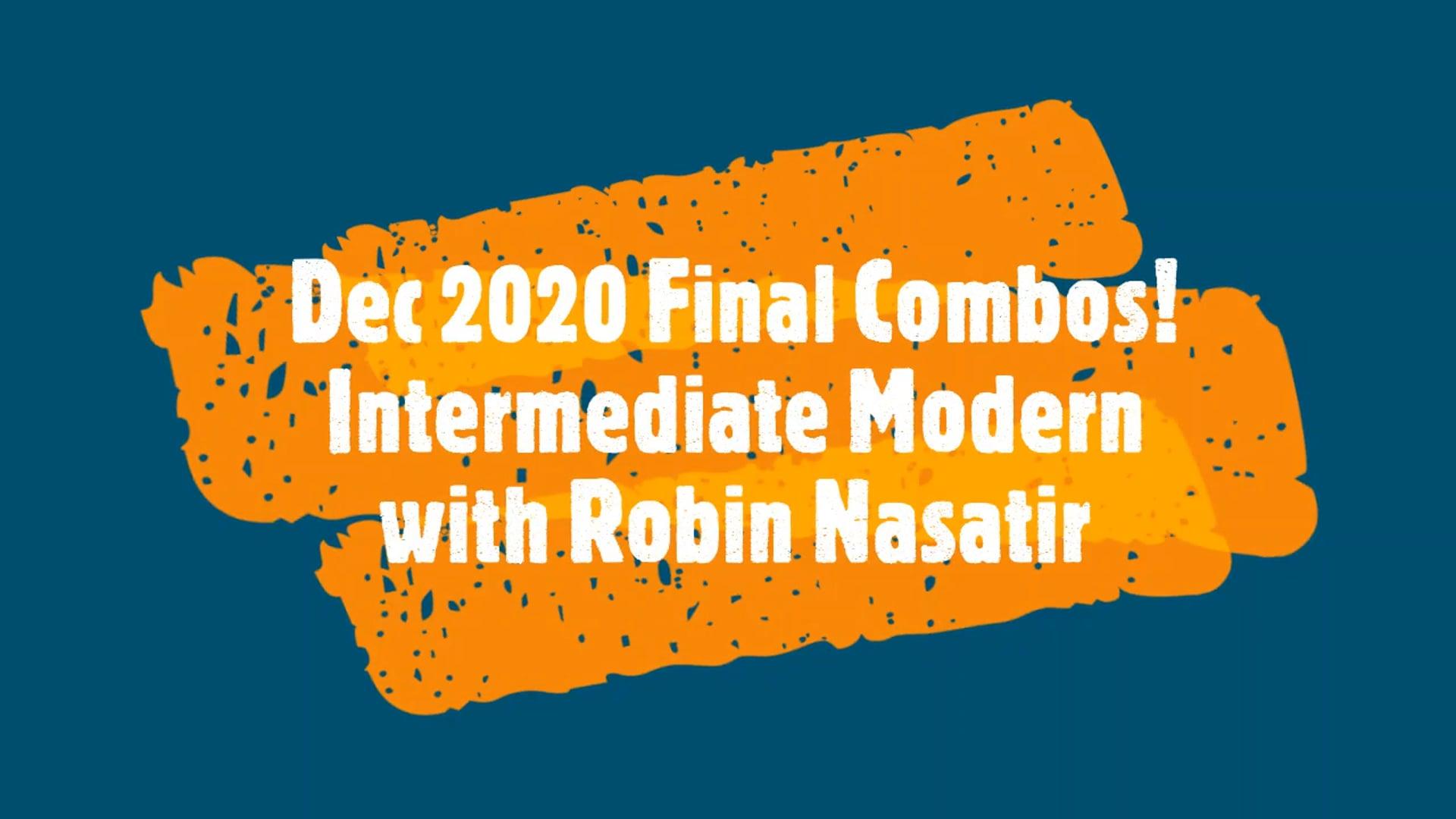 Dec 2020 End of Year Intermediate Modern Dance