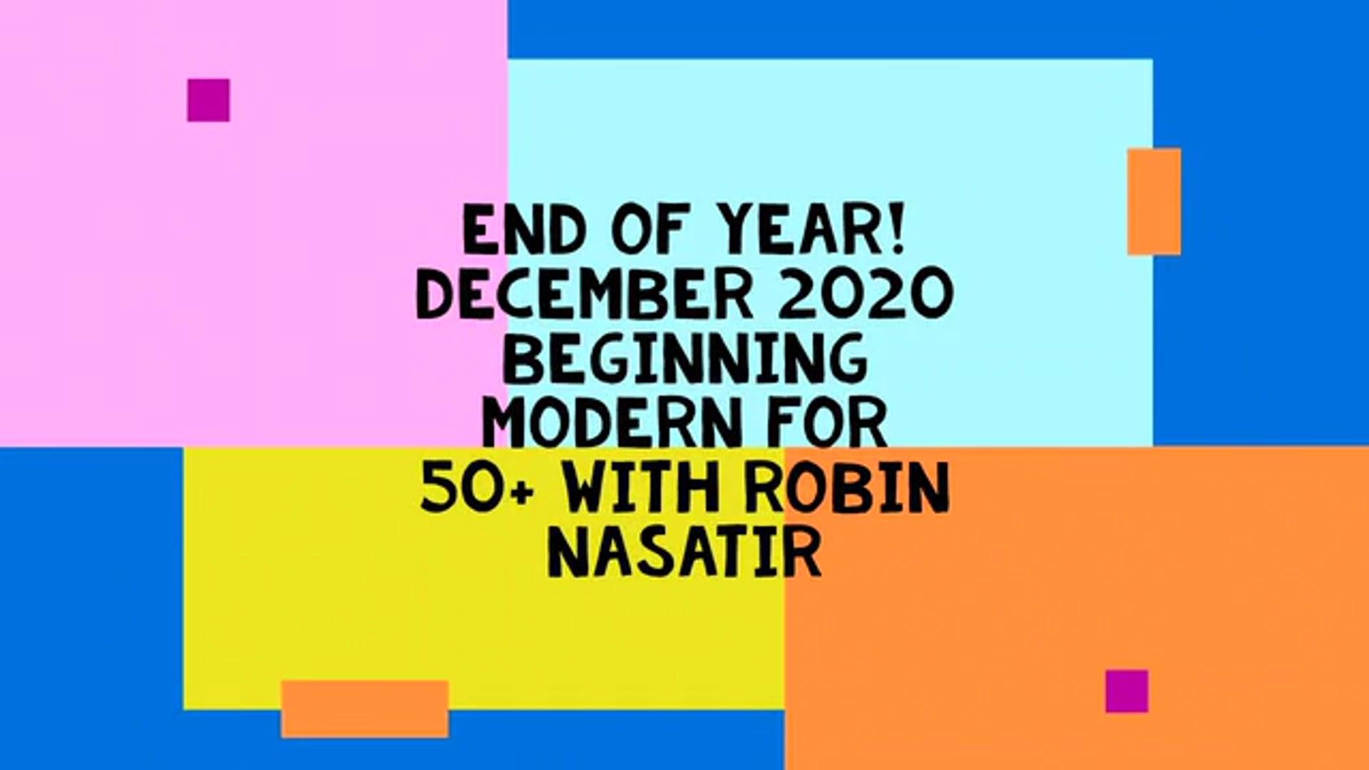 Dec 2020 Final Combos Beginning Modern for Older and Returning Dancers