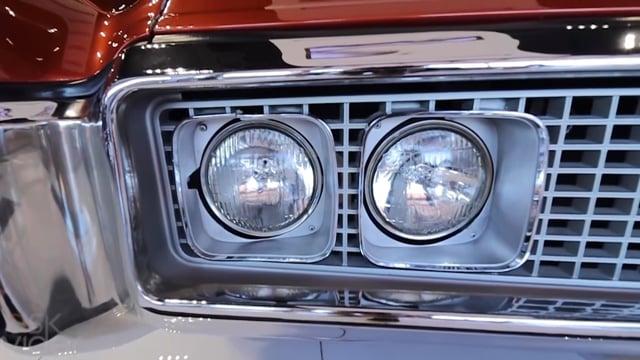 BUICK CLASSIC 1969 ORANGE
