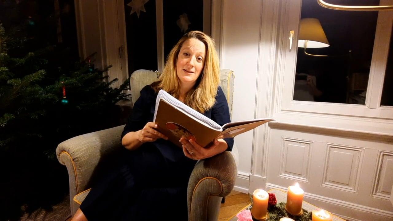 Weihnachtsgeschichte gelesen von Anna Magdalena Bössen
