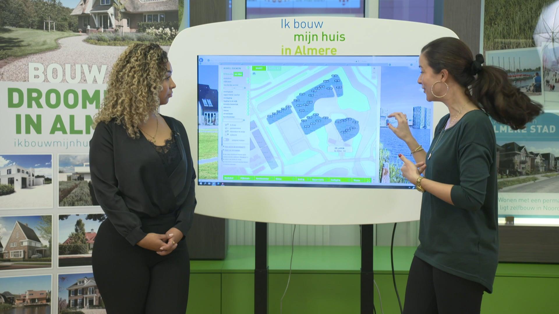 Livestream preview - Gemeente Almere online informatie Kavelverkoop
