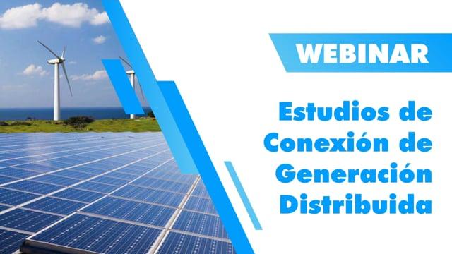 Estudios de Conexión de Generación Distribuida