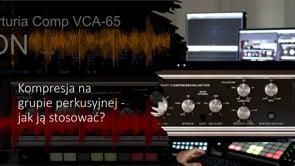 Kompresja na grupie perkusyjnej - jak ją stosować?
