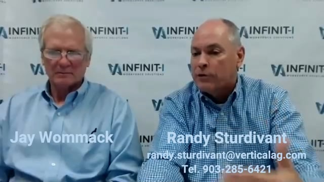 A Conversation with Jay Wommack and Randy Sturdivant of Infinit-I Workforce Solutions