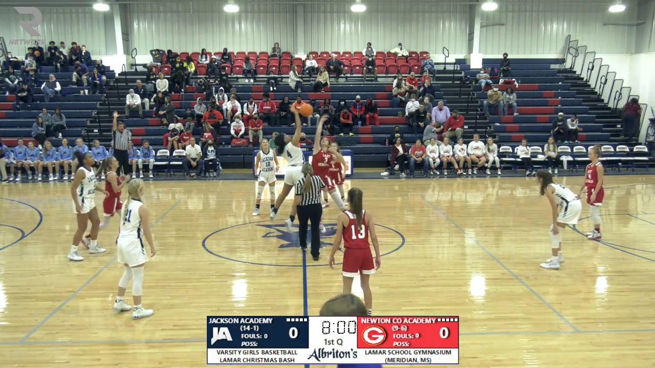 Varsity Girls Basketball vs Newton County Academy - 12-22-20