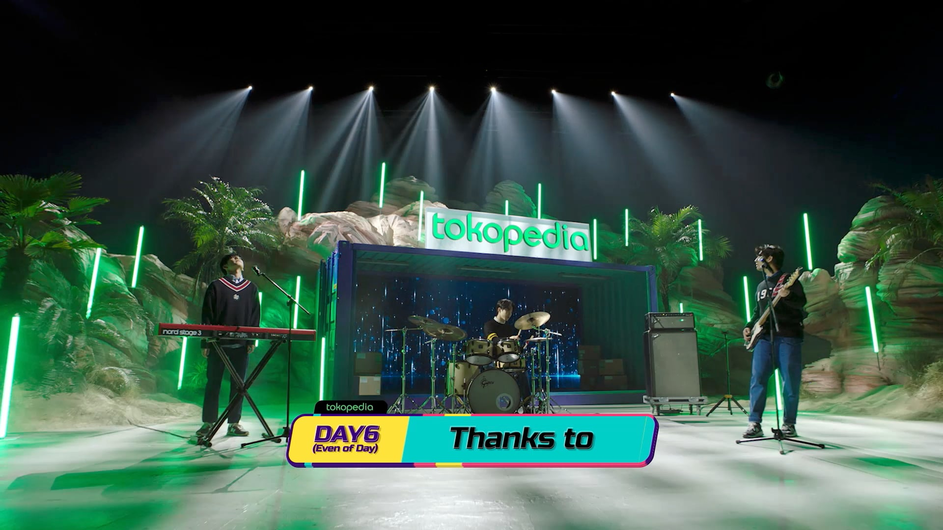 Tokopedia X DAY6(Even of Day): Thanks to